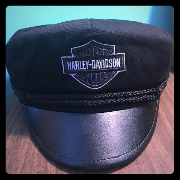 62dc2e1badc02 Harley-Davidson Motorcycle Captain s Hat NWT